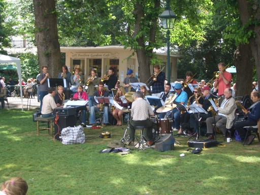 all band in Pavillion Gardens