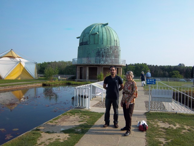 telescope dome at Herstmonceux
