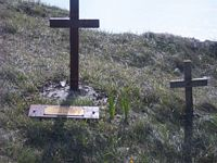crosses at Beachy Head