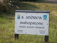 St Andrews Church sign